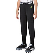 adidas Girls' Destiny Printed Waist Softball Pants