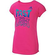 adidas Girls' Game On T-Shirt