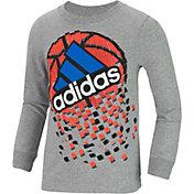 adidas Little Boys' Game Shattering Long Sleeve Shirt