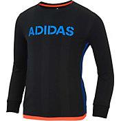 adidas Little Boys' Home Jersey Long Sleeve Shirt