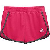 adidas Girls' Knit 3'' Shorts