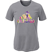 adidas Girls' Electric Logo T-Shirt