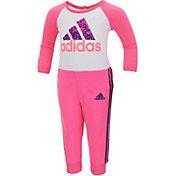 adidas Infant Girls' Bodysuit and Pants Set