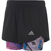 adidas Girls' Marathon Mesh Shorts