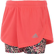 adidas Little Girls' Marathon Mesh Shorts