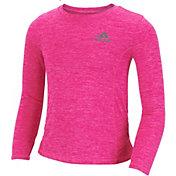 adidas Little Girls' Pretty Strong clima Long Sleeve Shirt