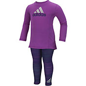 adidas Infant Girls' Pretty Strong Shirt and Leggings Set