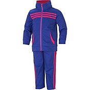 adidas Infant Girls' Tricot Jacket and Pants Set