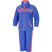 adidas Toddler Girls' Tricot Jacket and Pants Set