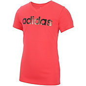 adidas Girls' Graphic T-Shirt