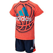 adidas Infant Boys' Slam Dunk Shoot T-Shirt and Shorts Set