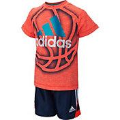 adidas Infant Boys' Slam Dunk Shoot T-Shirt and Shorts Set