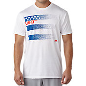 adidas Men's USA 3-Stripes Golf T-Shirt