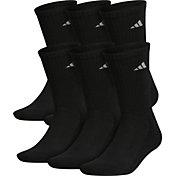 adidas Men's Athletic Crew Socks 6 Pack