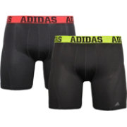 adidas Men's climacool 7'' Midway Briefs – 2 Pack