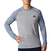 adidas Men's Ultimate Melange Long Sleeve Shirt
