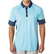 adidas Men's climachill® Print Block Golf Polo