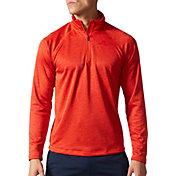 adidas Men's SpeedX Quarter Zip Long Sleeve Shirt