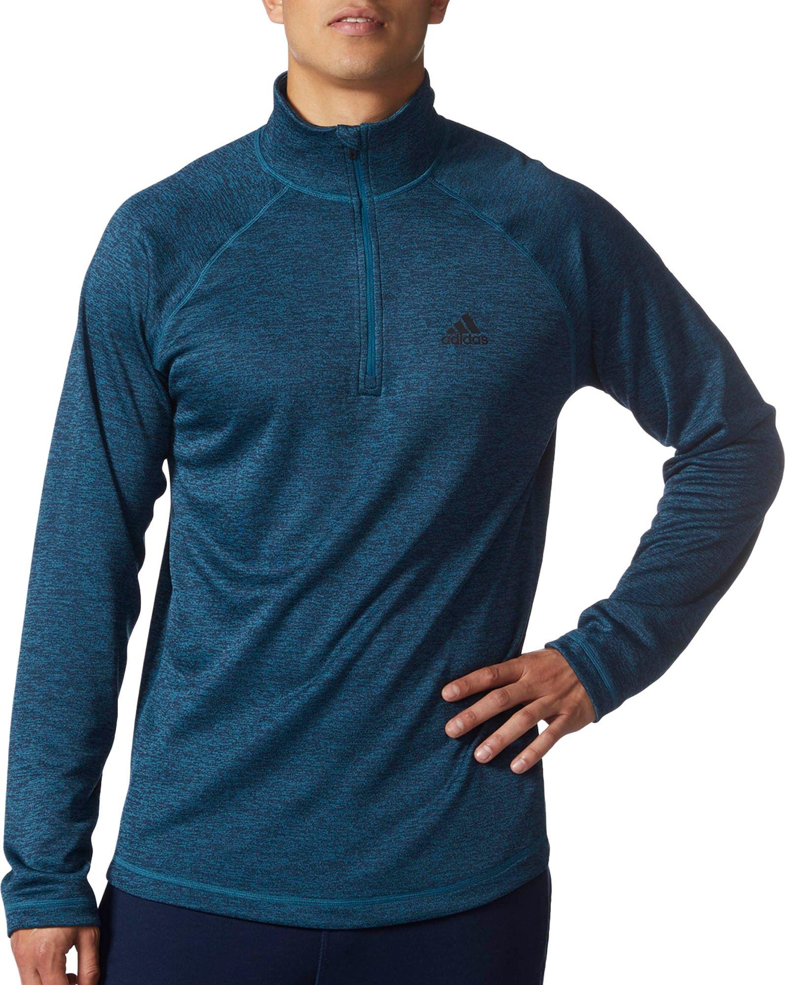 Adidas uomini speedx quarto la camicia a maniche lunghe dick sportive