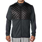 adidas Men's climaheat Prime Quilted Full-Zip Golf Jacket