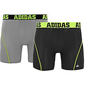 adidas Men's Climalite Graphic 5'' Boxer Briefs 2 Pack