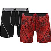 adidas Men's Climalite Graphic 5'' Boxer Briefs 2 Pack