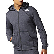 adidas Men's Cross-Up Full Zip Basketball Hoodie