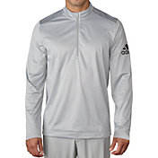 adidas Men's climawarm Performance Quarter-Zip Golf Pullover