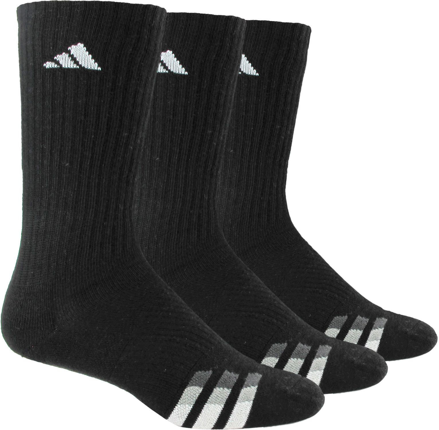 Product Image � adidas Men\u0027s Cushioned Crew Socks 3 Pack