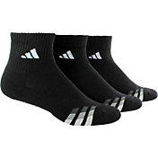 adidas Men's Cushioned Quarter Athletic Socks 3 Pack
