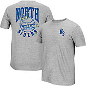 """adidas Men's Chicago Cubs climalite Grey """"North Siders"""" T-Shirt"""