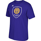 adidas Men's Orlando City Purple Crest T-Shirt