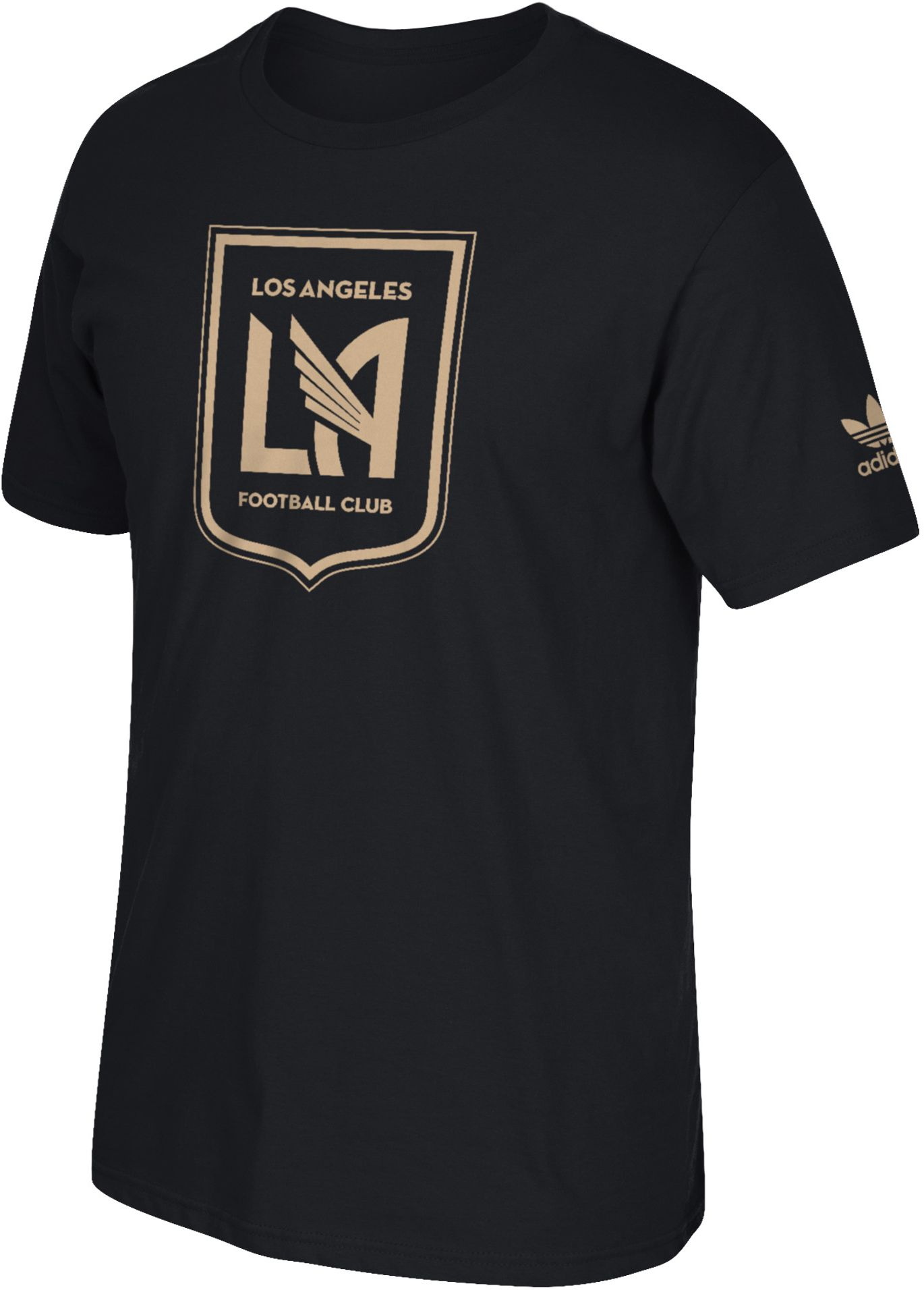 adidas Men's Los Angeles FC Logo Black T-Shirt| DICK'S Sporting Goods