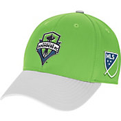 adidas Men's Seattle Sounders Authentic Team Structured Flex Hat