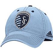 adidas Men's Sporting KC Structured Adjustable Hat