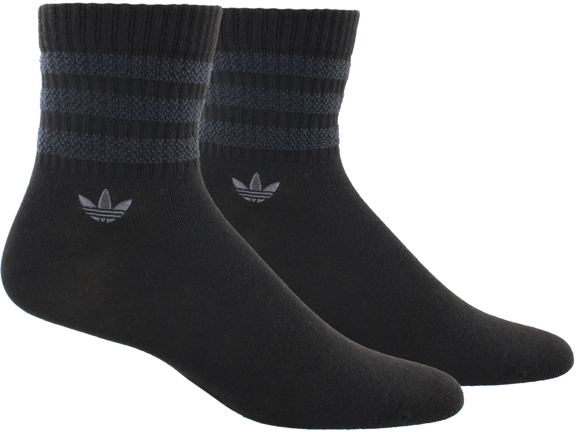 adidas quarter socks. adidas men\u0027s originals textured 3-stripe quarter socks 2 pack