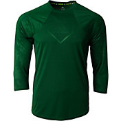 adidas Men's Phenom Embossed Tech ¾ Sleeve Shirt