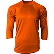 adidas Men's Phenom Embossed Tech ¾ Sleeve Shirt