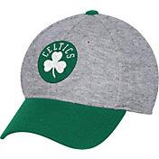 adidas Men's Boston Celtics Structured Grey Flex Hat