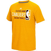 adidas Men's Cleveland Cavaliers climalite Energy Stripe Yellow T-Shirt