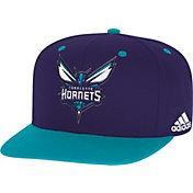adidas Men's Charlotte Hornets On-Court Adjustable Snapback Hat