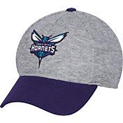 adidas Men's Charlotte Hornets Structured Grey Flex Hat