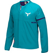 adidas Men's Charlotte Hornets On-Court Teal Jacket