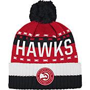adidas Men's Atlanta Hawks Cuffed Pom Knit Hat