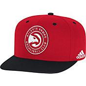adidas Men's Atlanta Hawks On-Court Adjustable Snapback Hat