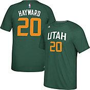 adidas Men's Utah Jazz Gordon Hayward #20 climalite Green T-Shirt