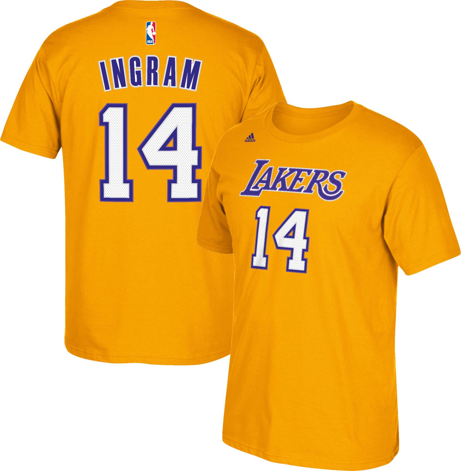 fe27e834218 ... NBA Los Angels Lakers 14 Brandon Ingram Black Stitched Jerseys  noImageFound ...