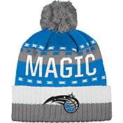 adidas Men's Orlando Magic Cuffed Pom Knit Hat
