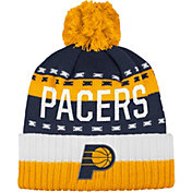 adidas Men's Indiana Pacers Cuffed Pom Knit Hat