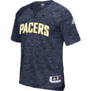 adidas Men's Indiana Pacers On-Court Navy Shooting Shirt